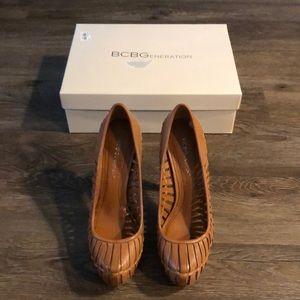 BCBG | Estrella Heels in Summer Brown